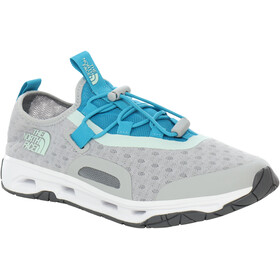 The North Face Skagit Water Zapatillas Mujer, high rise grey/caribbean sea